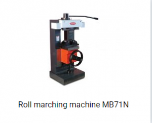 Roll marching machine MB71N