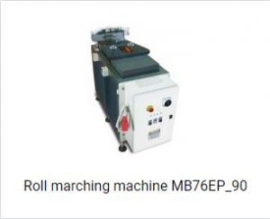 Roll marching machine MB76EP_90