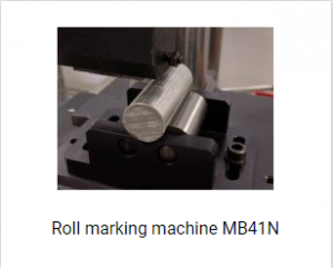 Roll marking machine MB41N