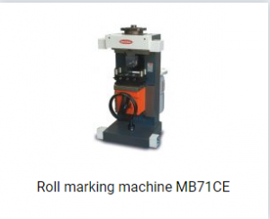 Roll marking machine MB71CE