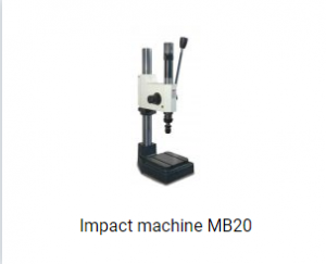 impact machine MB20