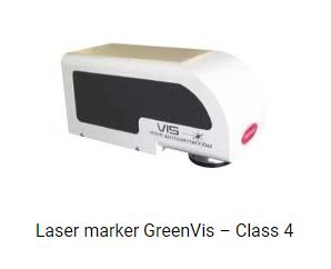Laser marker GreenVis-Class 4