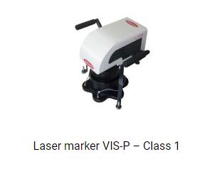 laser marker VIS-P Class 1