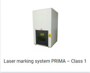 Laser marking system PRIMA – Class 1
